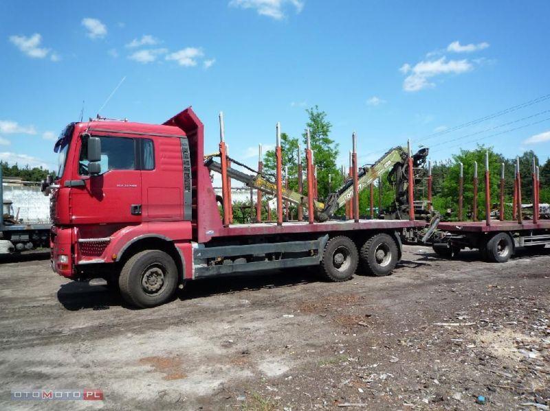 Man TGA 33.480 do drewna