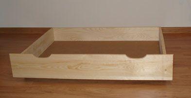 Zlęce produkcję szuflad do łóżek