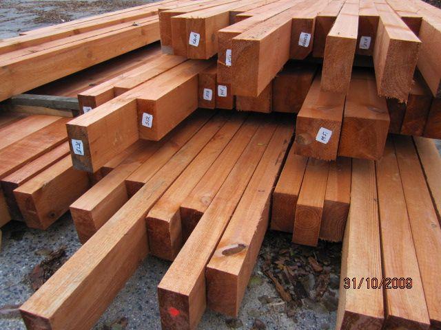 drewno budowlane, więźba,