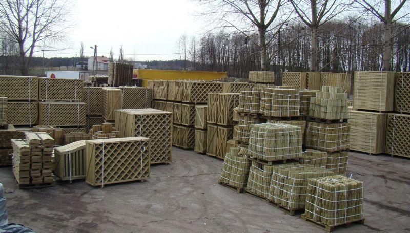 Drewno do ogrodu- Producent