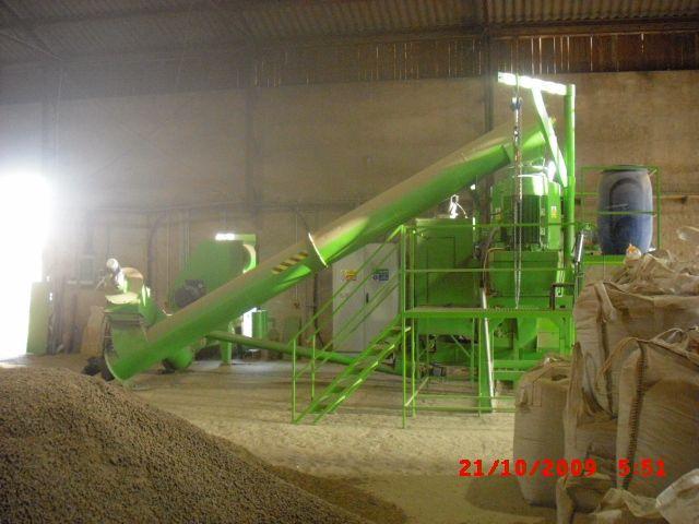 Unikalne Linie do produkcji pelletu ze słomy i trociny - Ogłoszenia branży HS02