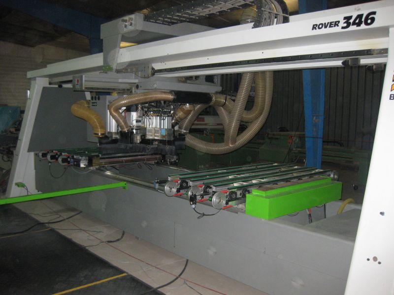 CNC CENTRUM OBRÓBCZE BIESSE ROVER