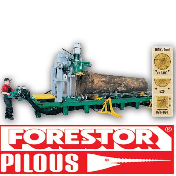 Trak taśmowy poziomy 1300 Hydraulik Pilous Forestor