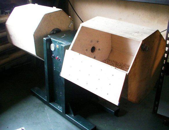 Bęben/Bębnownica do lakierowania i barwienia drewna