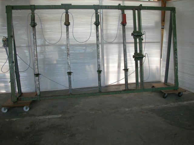 Prasa ramowa pneumatyczna firmy POLZER