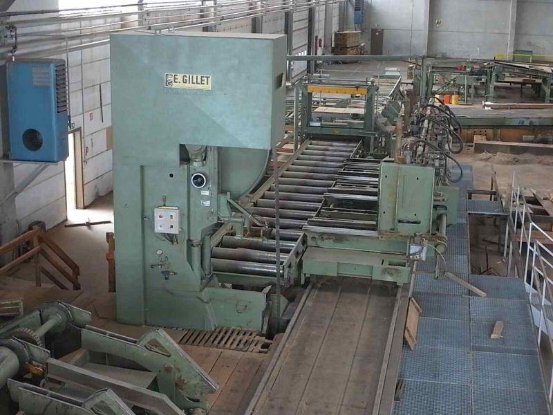 Пильная колонна GILLET TO1800, Год выпуска 1997г.