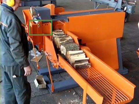 KSx 200: Maszyna dla podpałki / Kindling sticks machine
