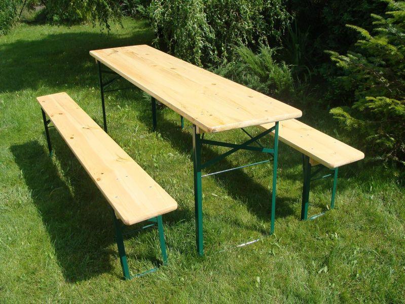 Mebele ogrodowe - Zestawy piwne / Beertables