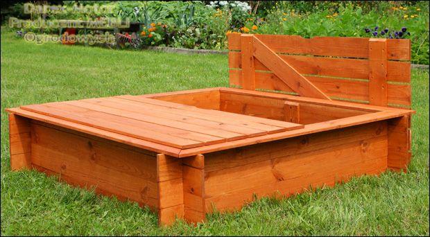 PRODUCENT Piaskownice drewniane różne modele od 70 netto