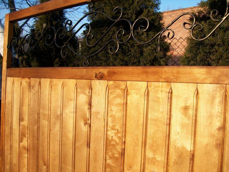 Przęsła,bramy ogrodzeniowe oraz sztachety