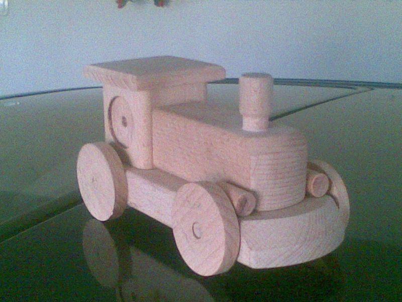 Zabawki Drewiane