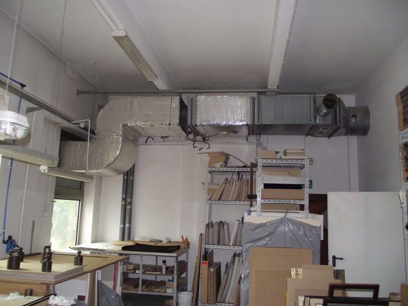 Instalacja nawiewna do kabiny lakierniczej