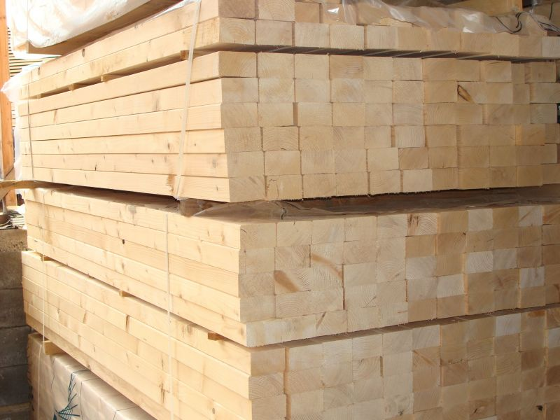Tarcica budowlana, więźba, łaty, deski i inne