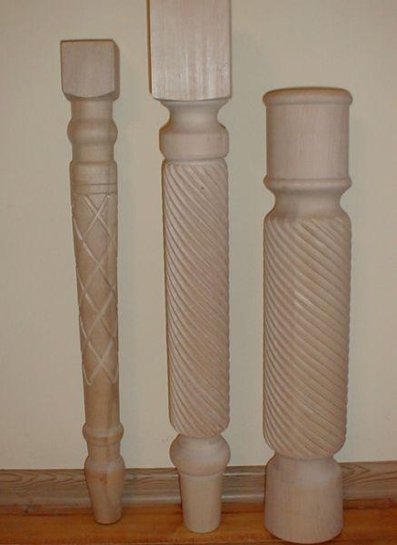 toczenie drewna, frezowanie półwałka spiralnie
