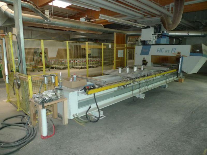 Modernistyczne CNC MAKA HC-57R DO PRODUKCJI SCHODOW, DRZWI - OKAZJA- Ogłoszenia IW26