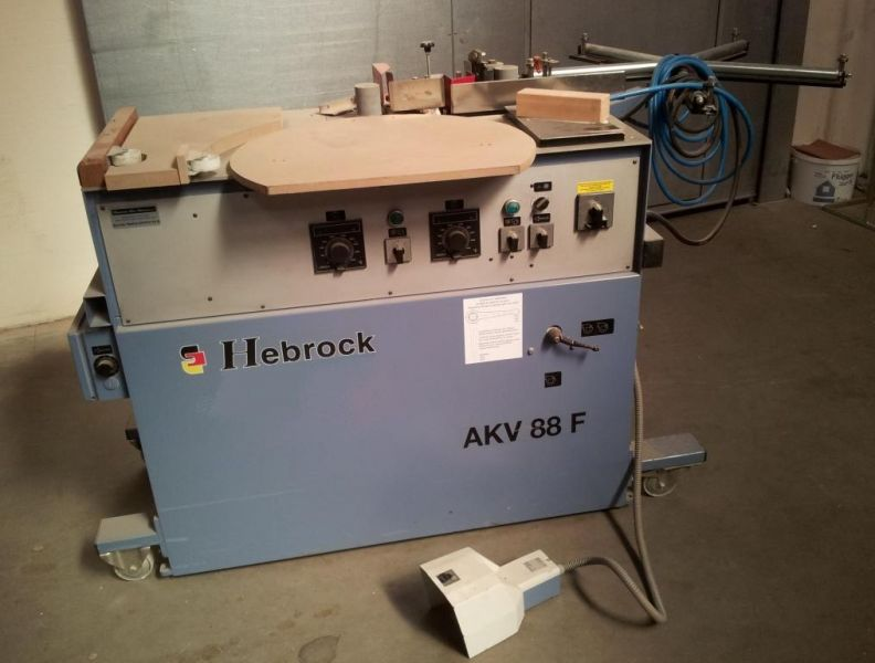 20-09-8007-1 Edge banding machine HEBROCK (used)