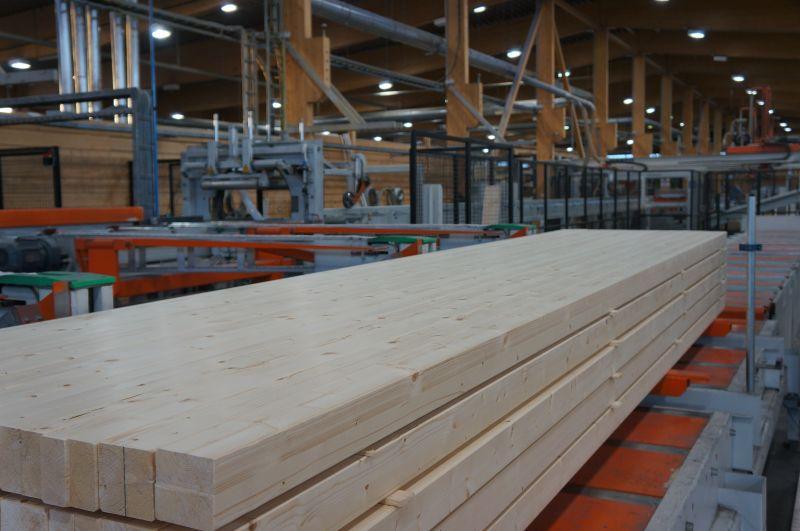 Drewno klejone warstwowo/wzdłużnie