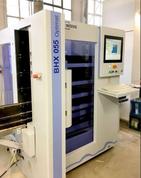 CNC WEEKE OPTIMAT BHX 055 , rok 2012